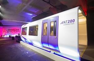 High-Speed Branding for new Hitachi trains