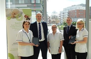 iPads Donated To Royal Manchester Children's Hospital